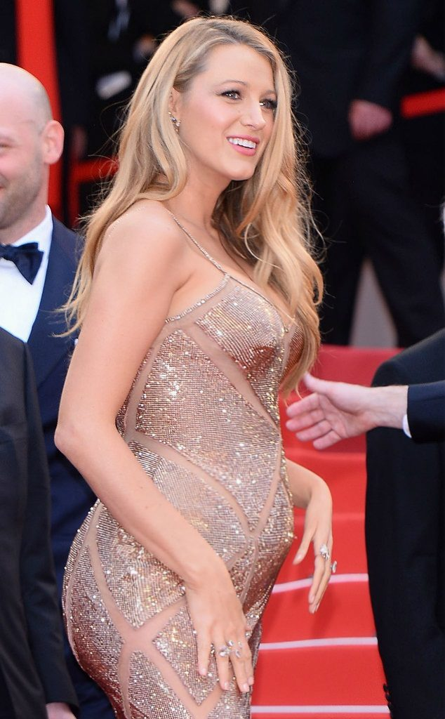 Blake Lively Pics With Baby Bump