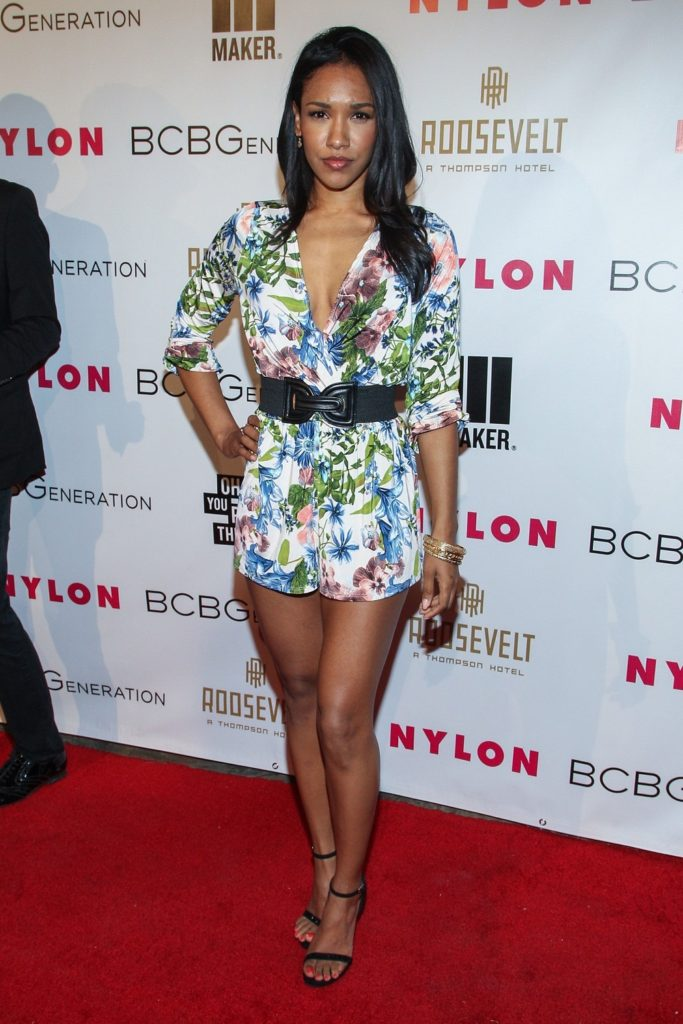 Candice Patton Sexy Legs