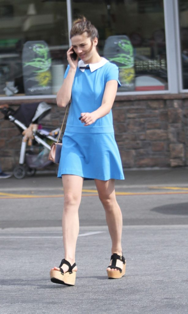 Crystal Reed Images In Short Dress