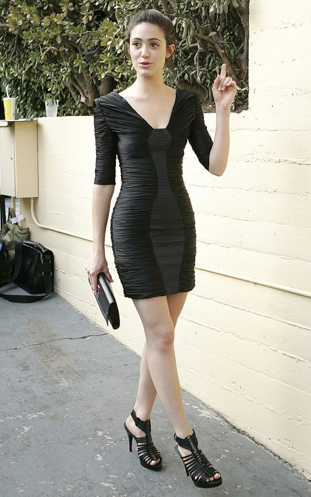 Emmy Rossum Images In Short Cloths