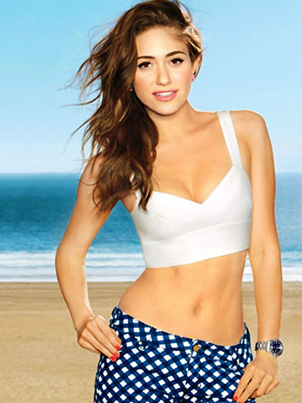 Emmy Rossum Sexy Navel Wallpapers