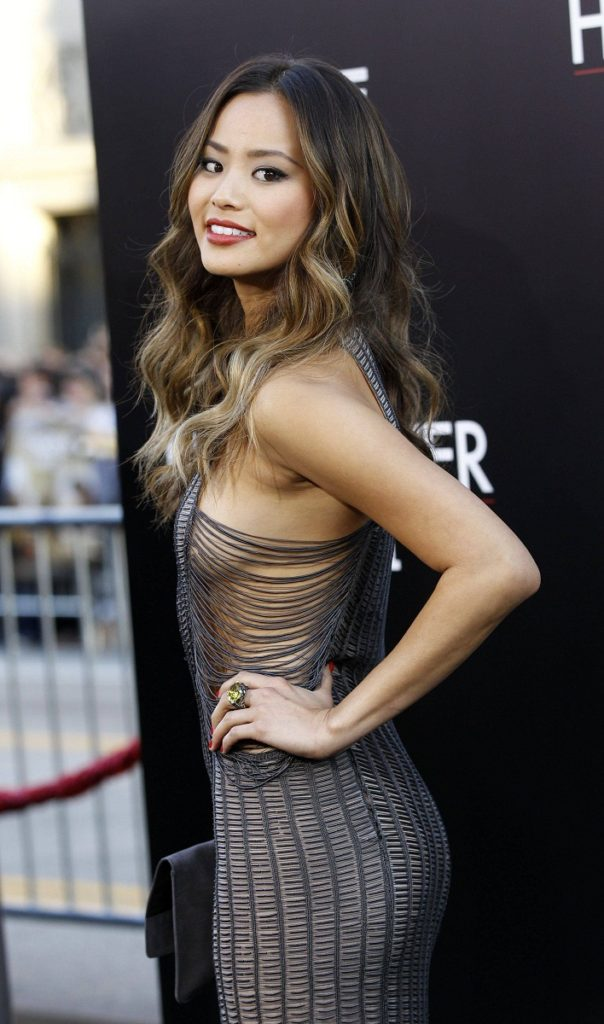 Jamie Chung Oops Moment Images