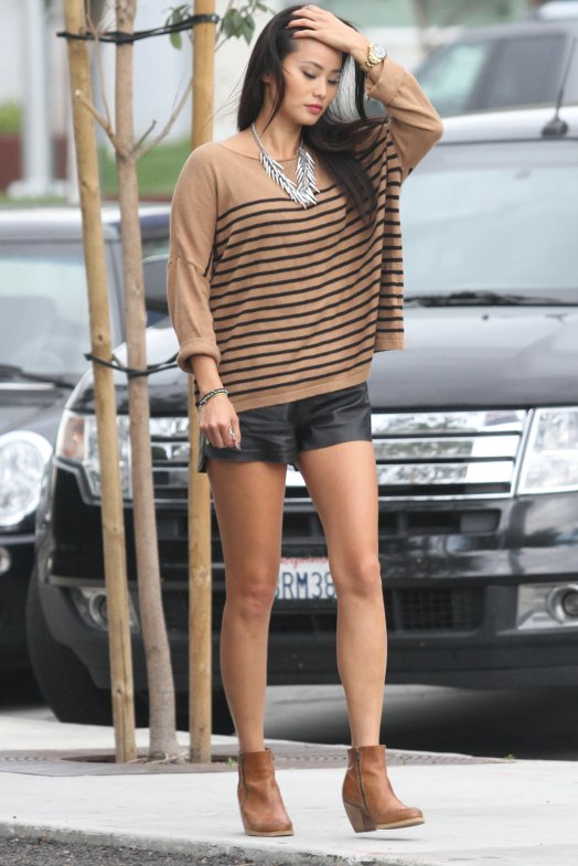 Jamie Chung Unseen Pics In Short Cloths