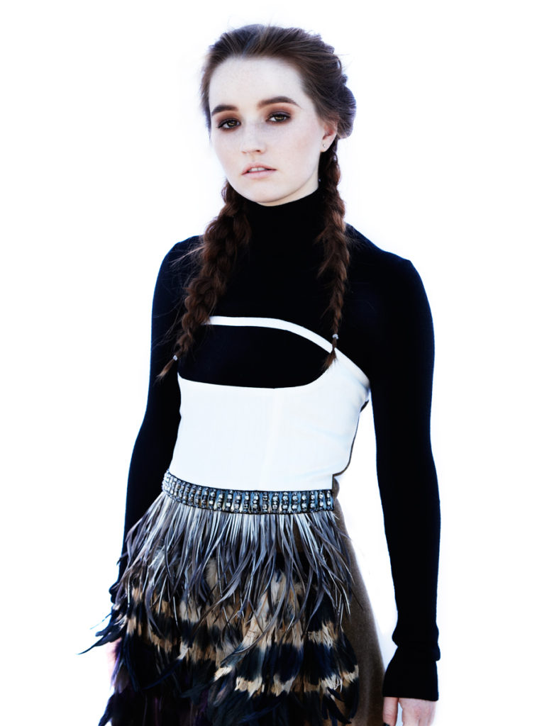 Kaitlyn Dever Black & White Pics