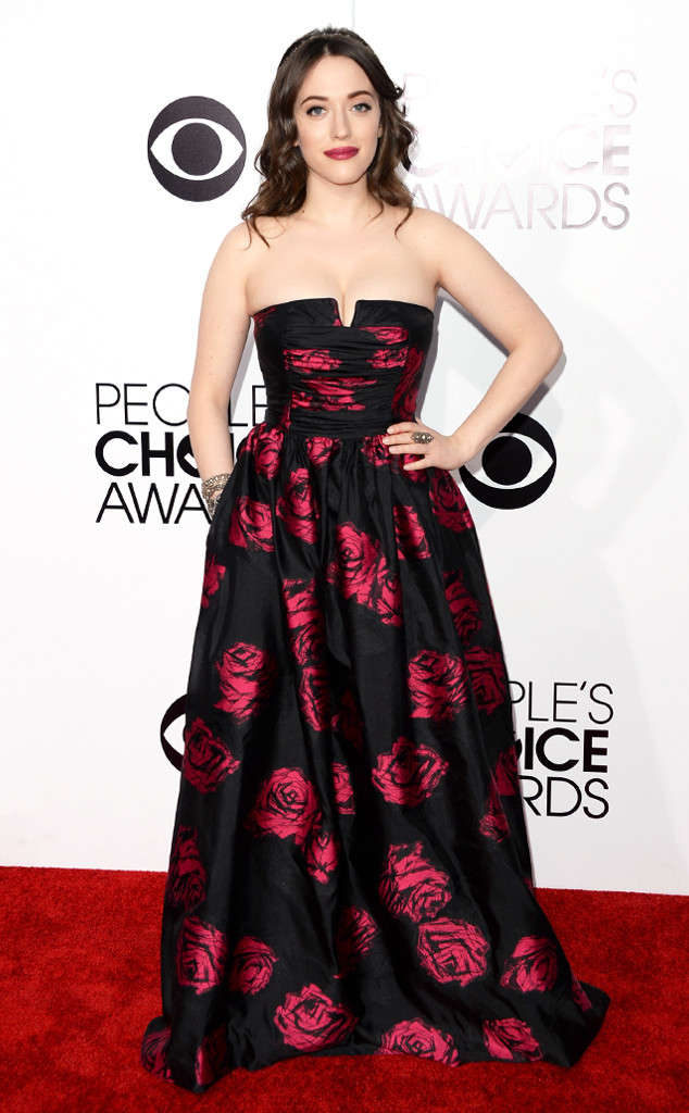 Kat Dennings Images In Gown