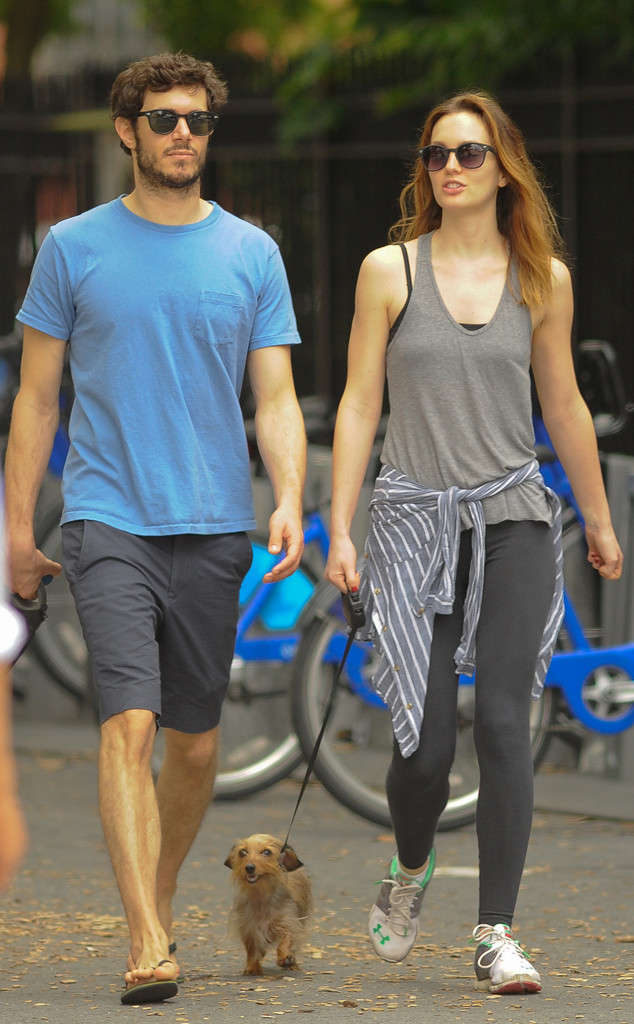 Leighton Meester Cute Pictures With His Boyfriend