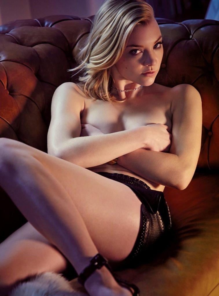 Natalie Dormer Hot Topless Images