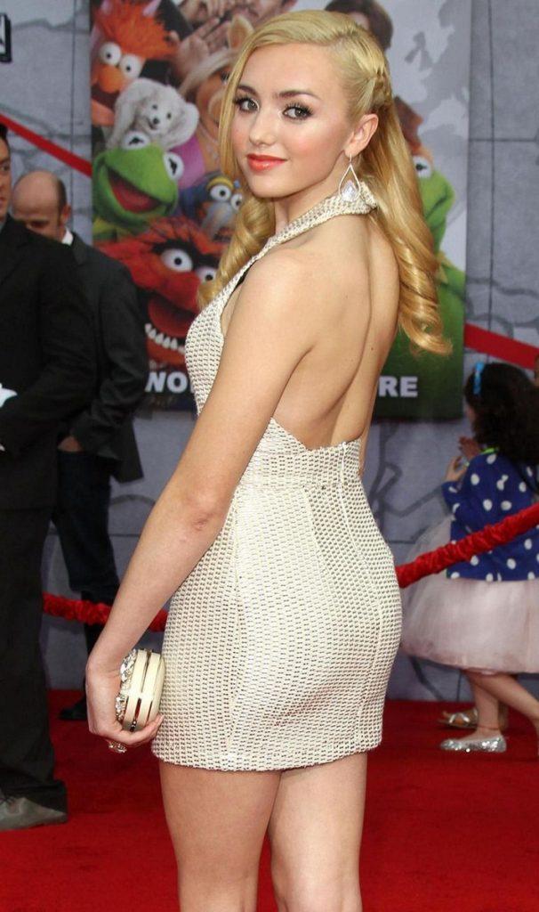 Peyton List Hot Backside Backless Pics