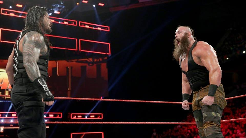 Braun Strowman Fight Pictures With Roman Reigns