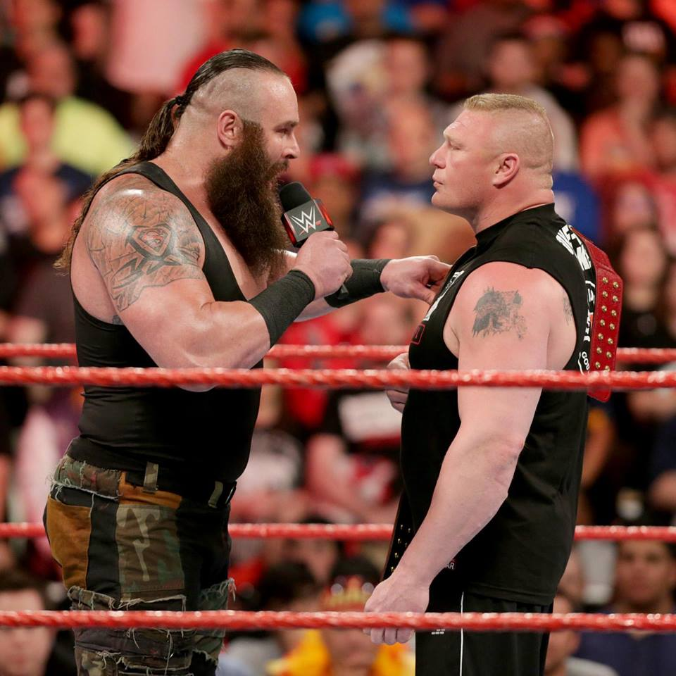 Braun Strowman Fight With Brock Lesnar Full HD Wallpapers