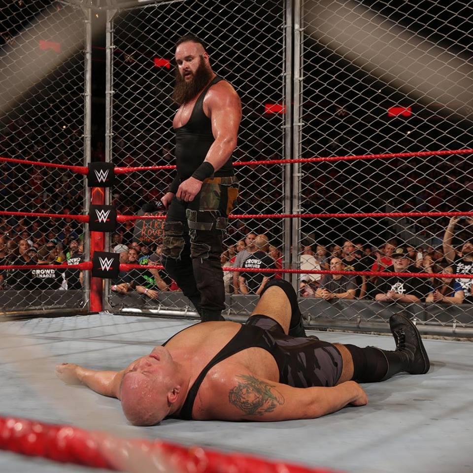 Braun Strowman Highest Fight Pictures