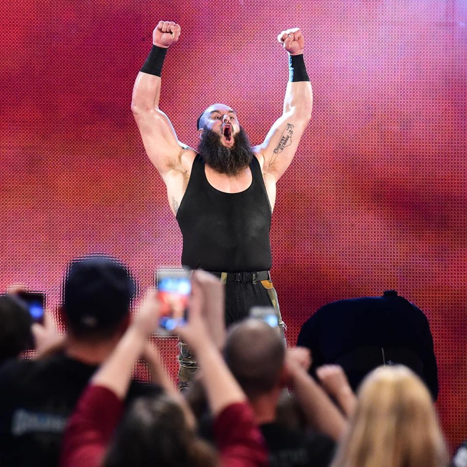 Braun Strowman Selfie With Fans Pictures