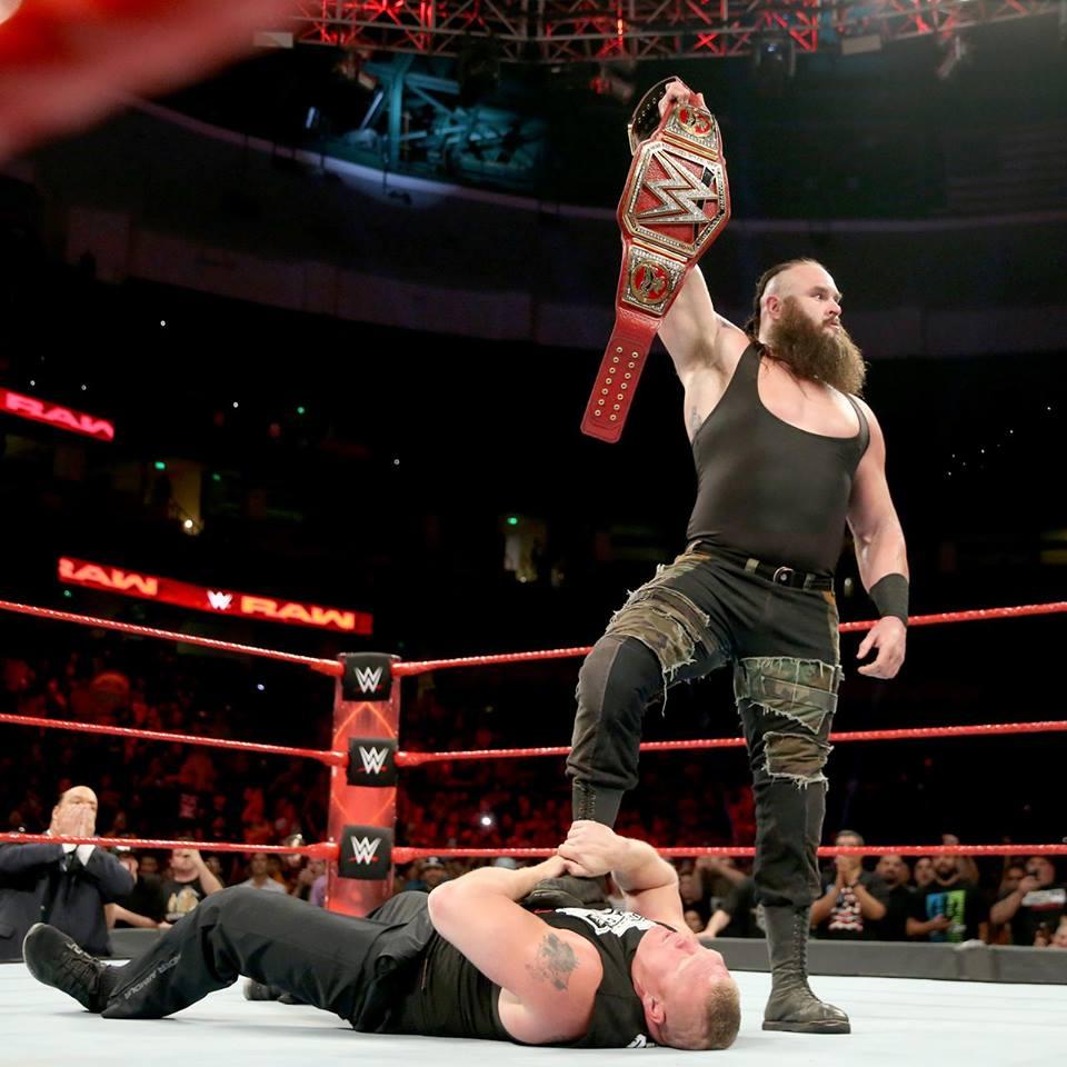 Braun Strowman WWE Belt Pictures