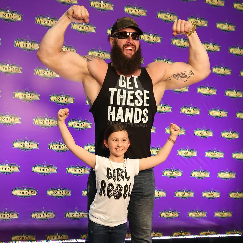 Braun Strowman With Child Photos