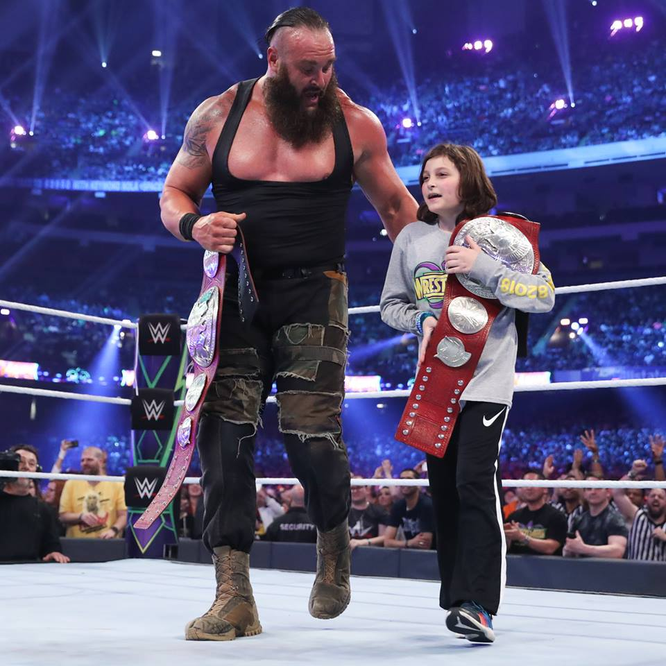 Braun Strowman With Small Fan Pictures