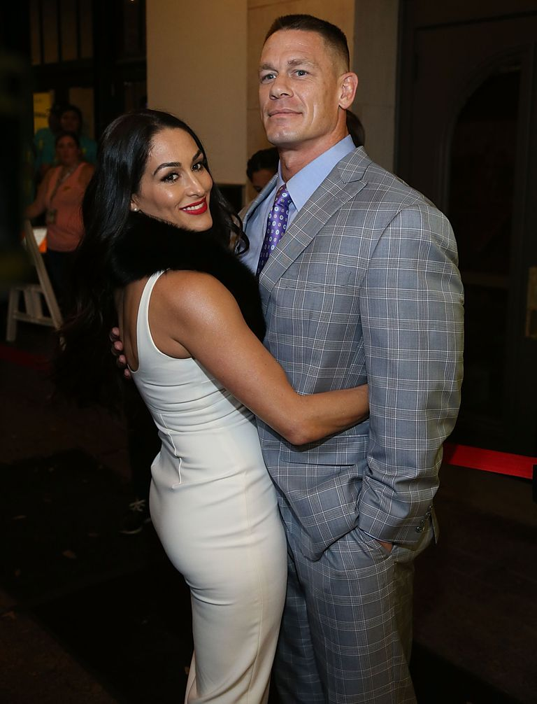 John Cena And Nikki Bella Pics