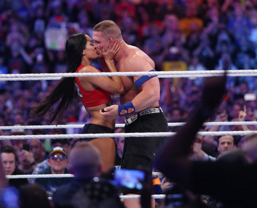 John Cena Kissing Photoshoots