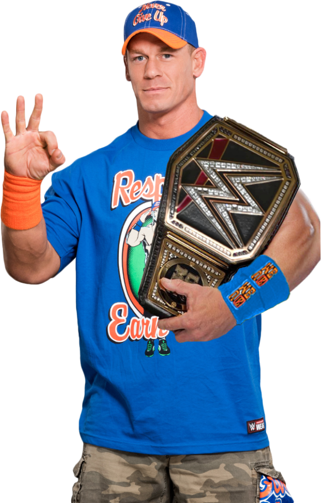 John Cena Photos With Trophy