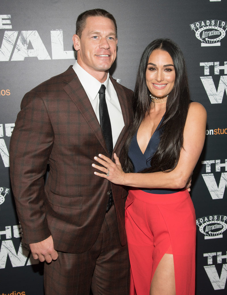 John Cena Pictures With Nikki Bella