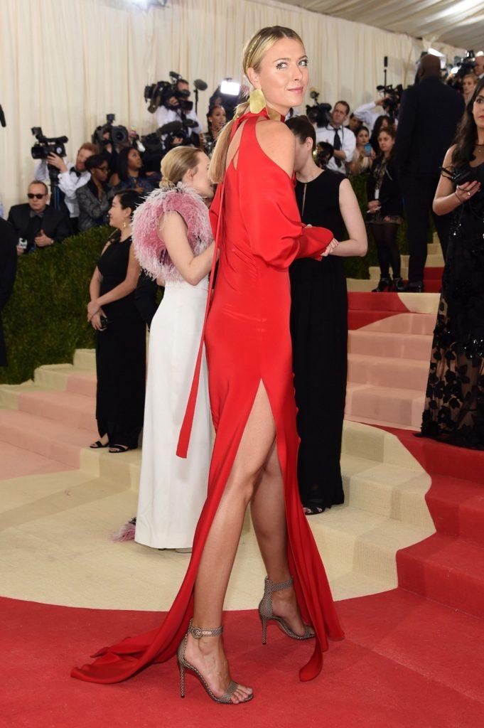 Maria Sharapova At Red Carpet Pictures
