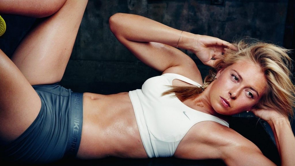 Maria Sharapova Hot In Bra Panty Photoshoot Free Download