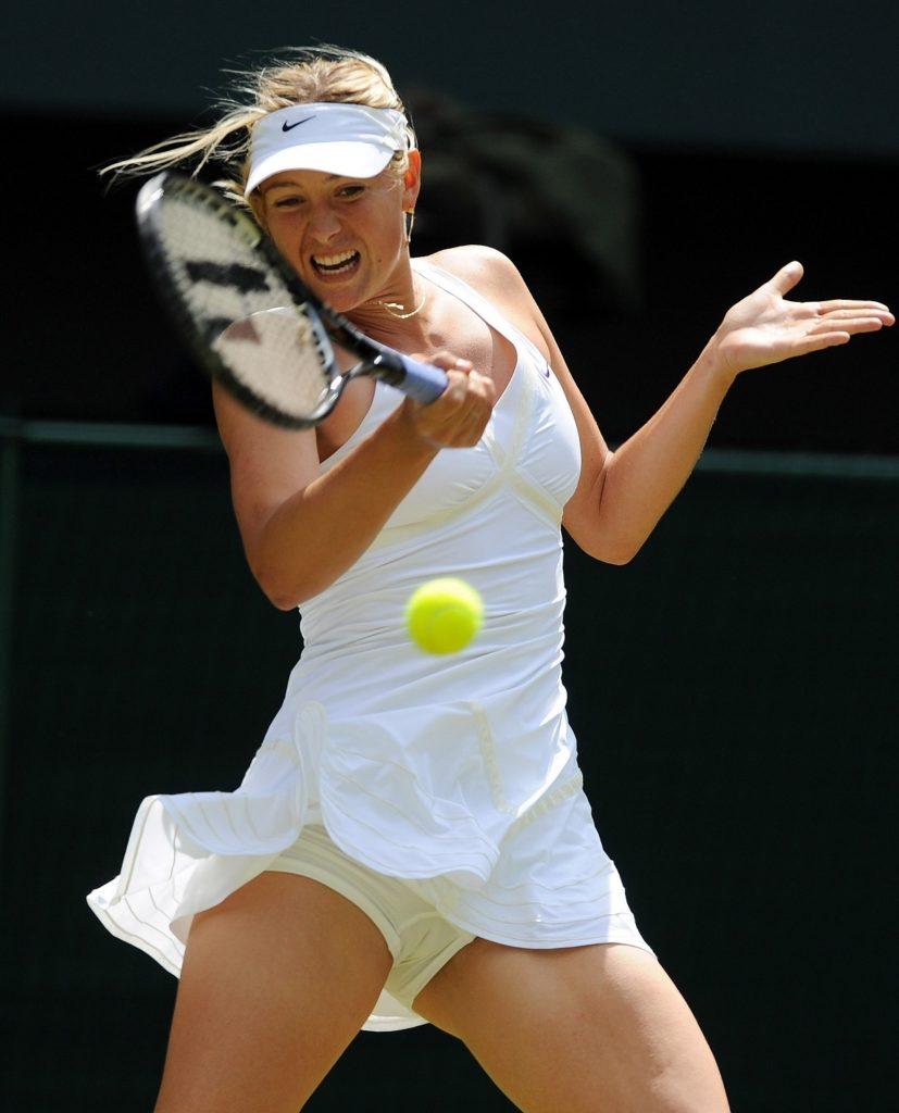 Maria Sharapova Sexy Look In Panty