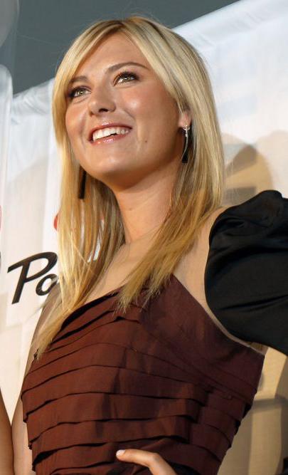 Maria Sharapova Smiling Images