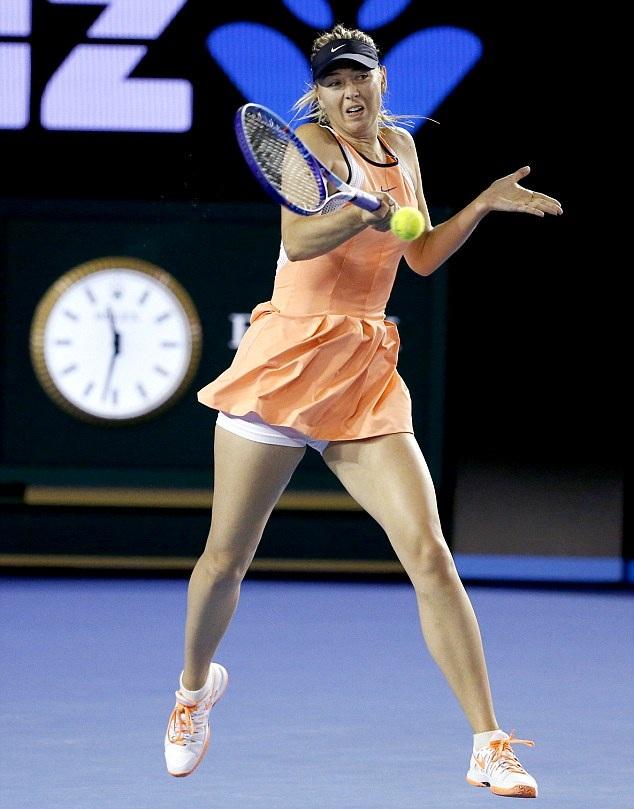Russian Tennis Player Maria Sharapova Lovely Pics