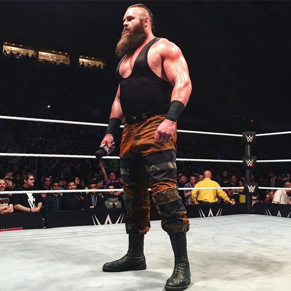 Wrestler Braun Strowman Hot Images In Ring
