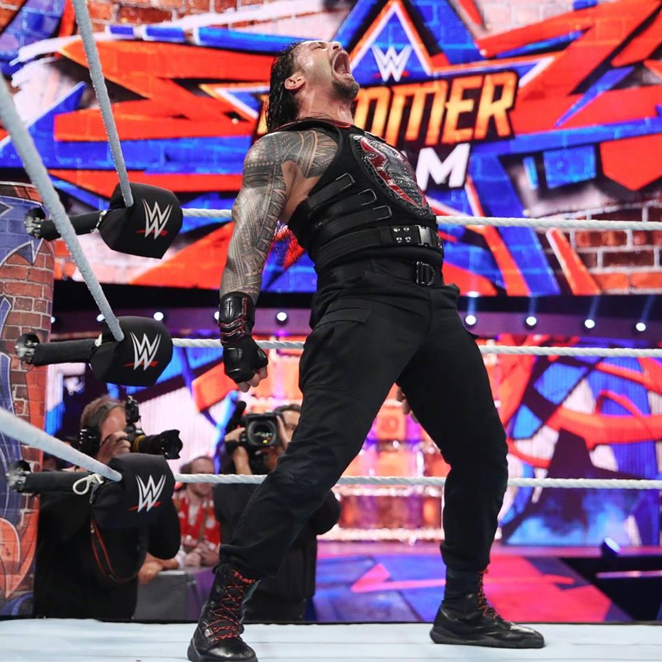 Wrestler Roman Reigns Angey Pics