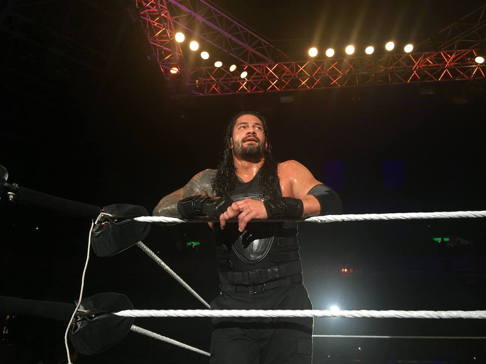 Wrestler Roman Reigns Cutes Photos