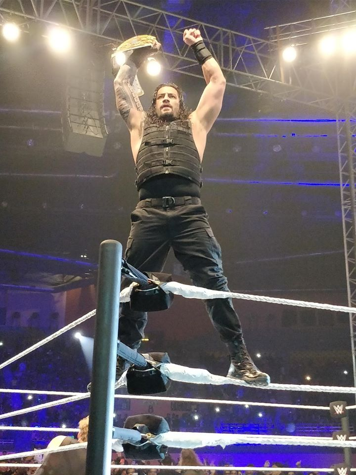 Wrestler Roman Reigns Fight Wallpapers