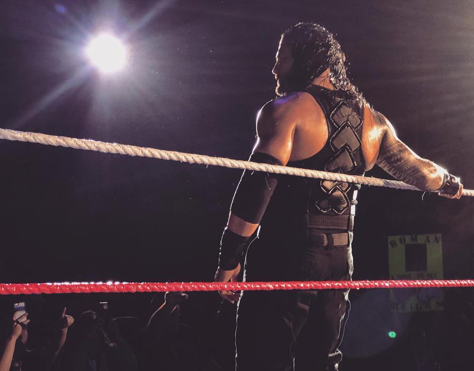 Wrestler Roman Reigns Hot Images On Backside
