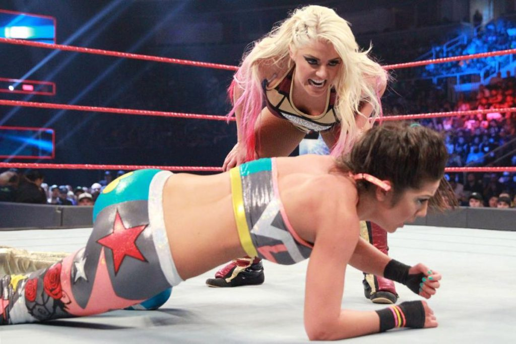 Alexa Bliss Angry Look Images In Ring