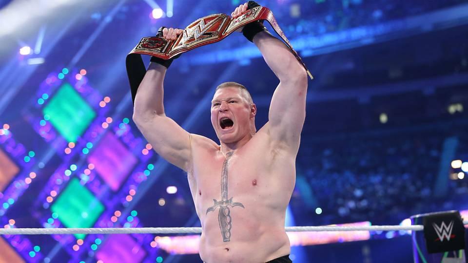 American Professional Wrestler Brock Lesnar Pics