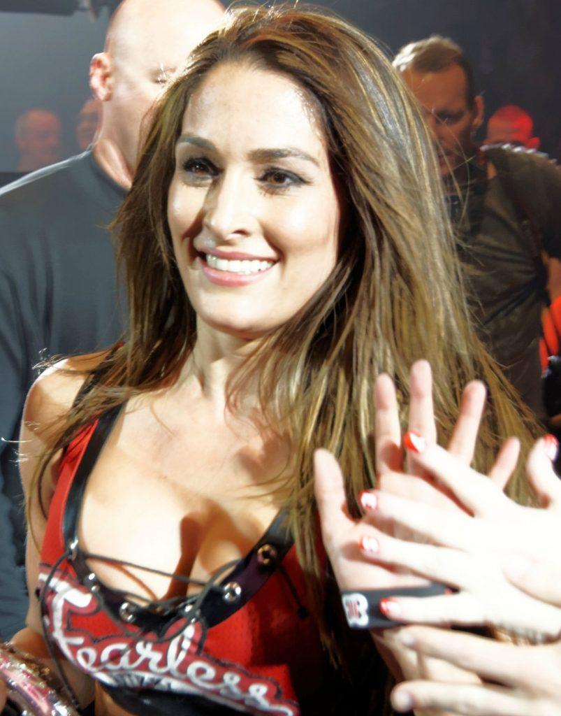 American Professional Wrestler Nikki Bella Pics