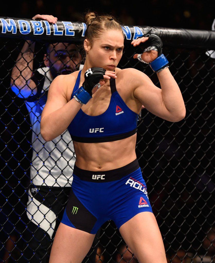 American Professional Wrestler Ronda Rousey Images