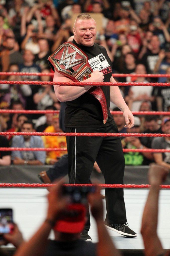 Brock Lesnar Angry Look Photos