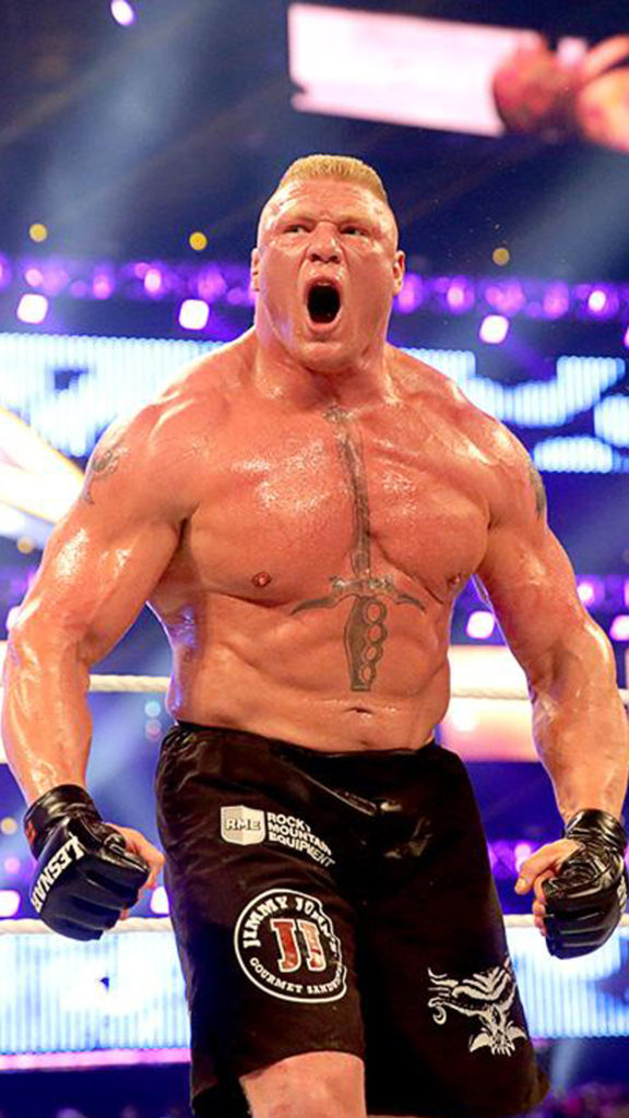 Brock Lesnar Angry Pictures