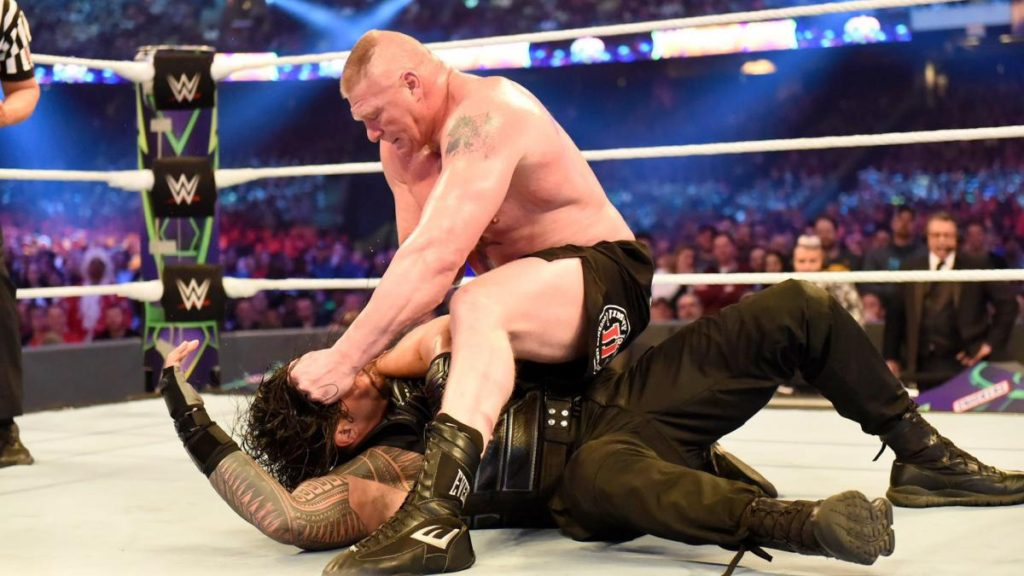 Brock Lesnar Attractive Fight Photos