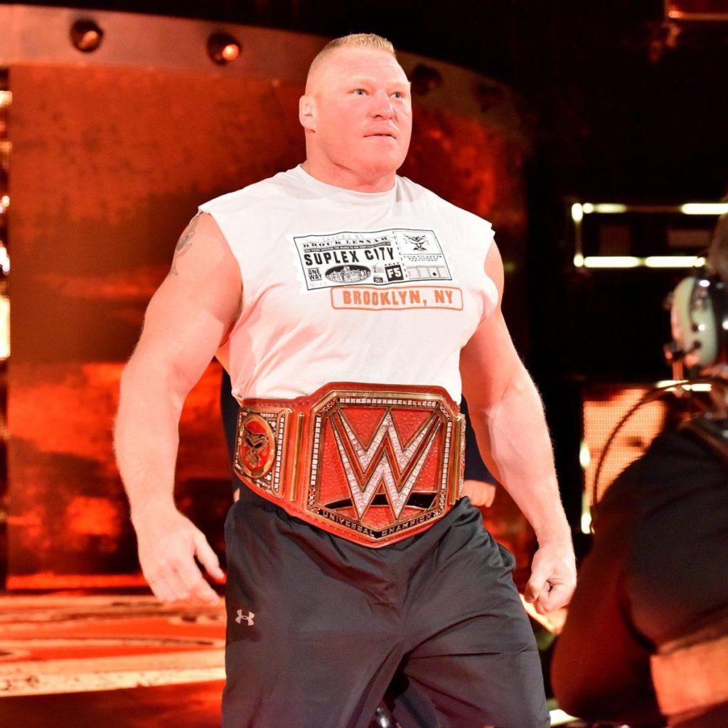 Brock Lesnar Biceps Photos