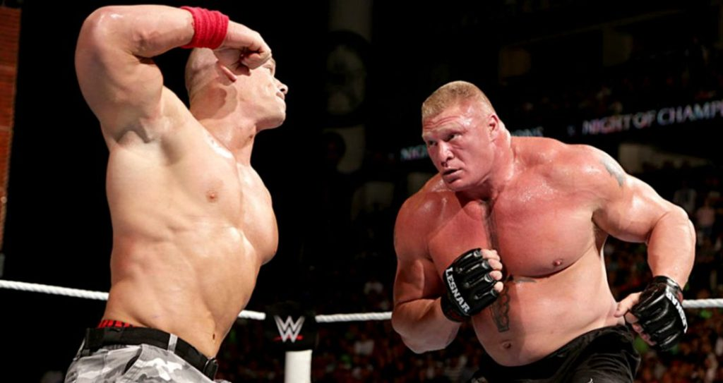 Brock Lesnar Fight Pictures