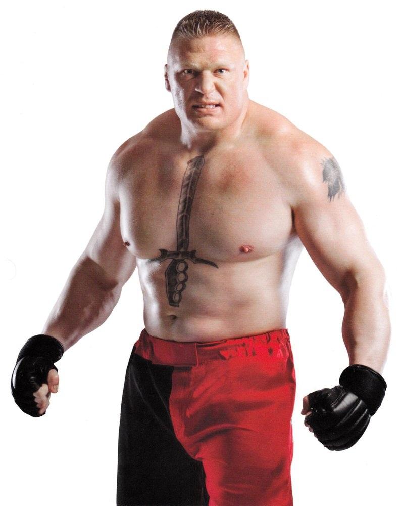 Brock Lesnar Height