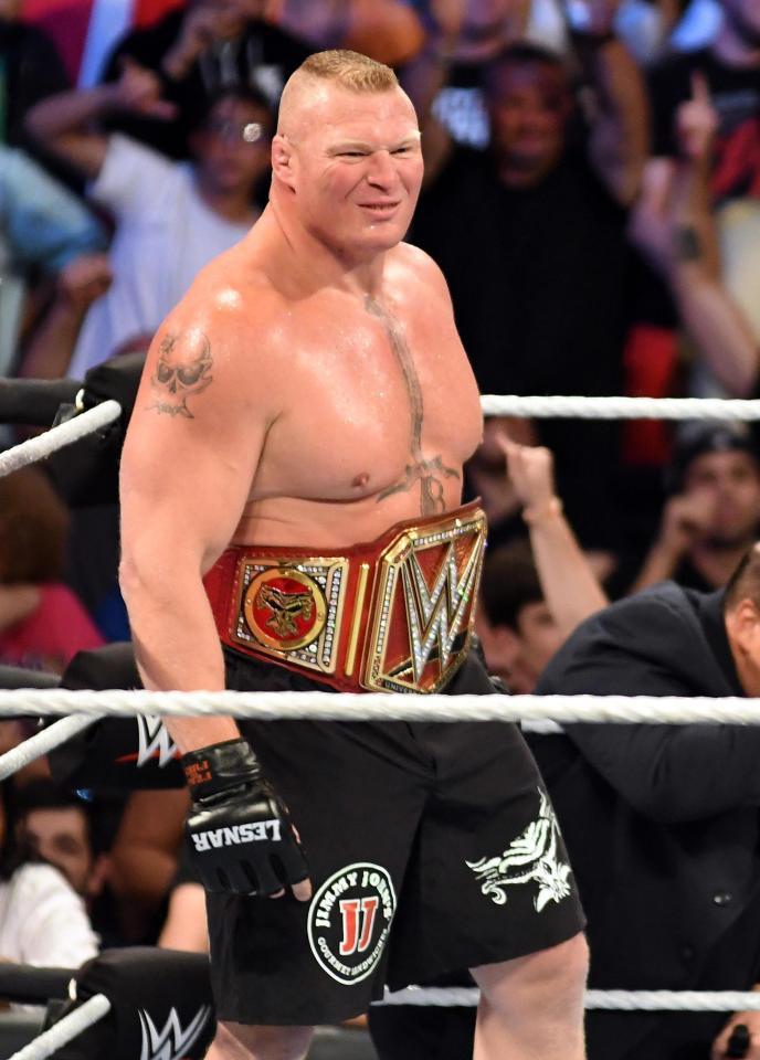 Brock Lesnar Hot Photos