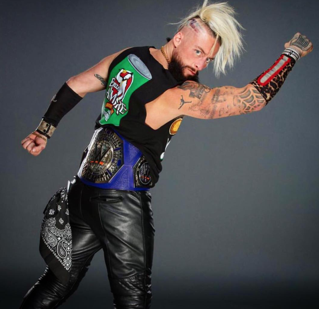 Enzo Amore Beautiful Tattoo Images