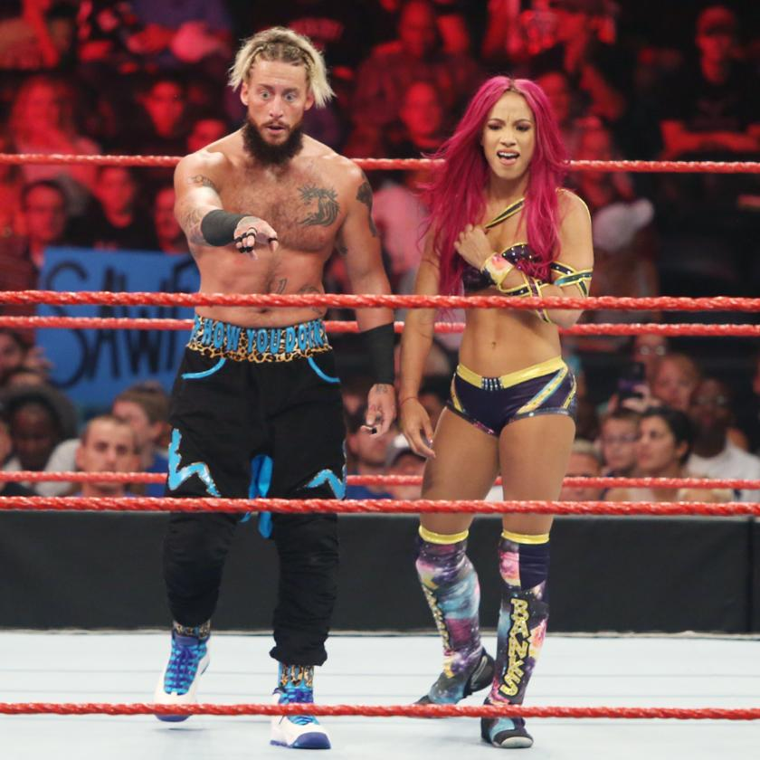 Enzo Amore Cute Pics With Hot Girl