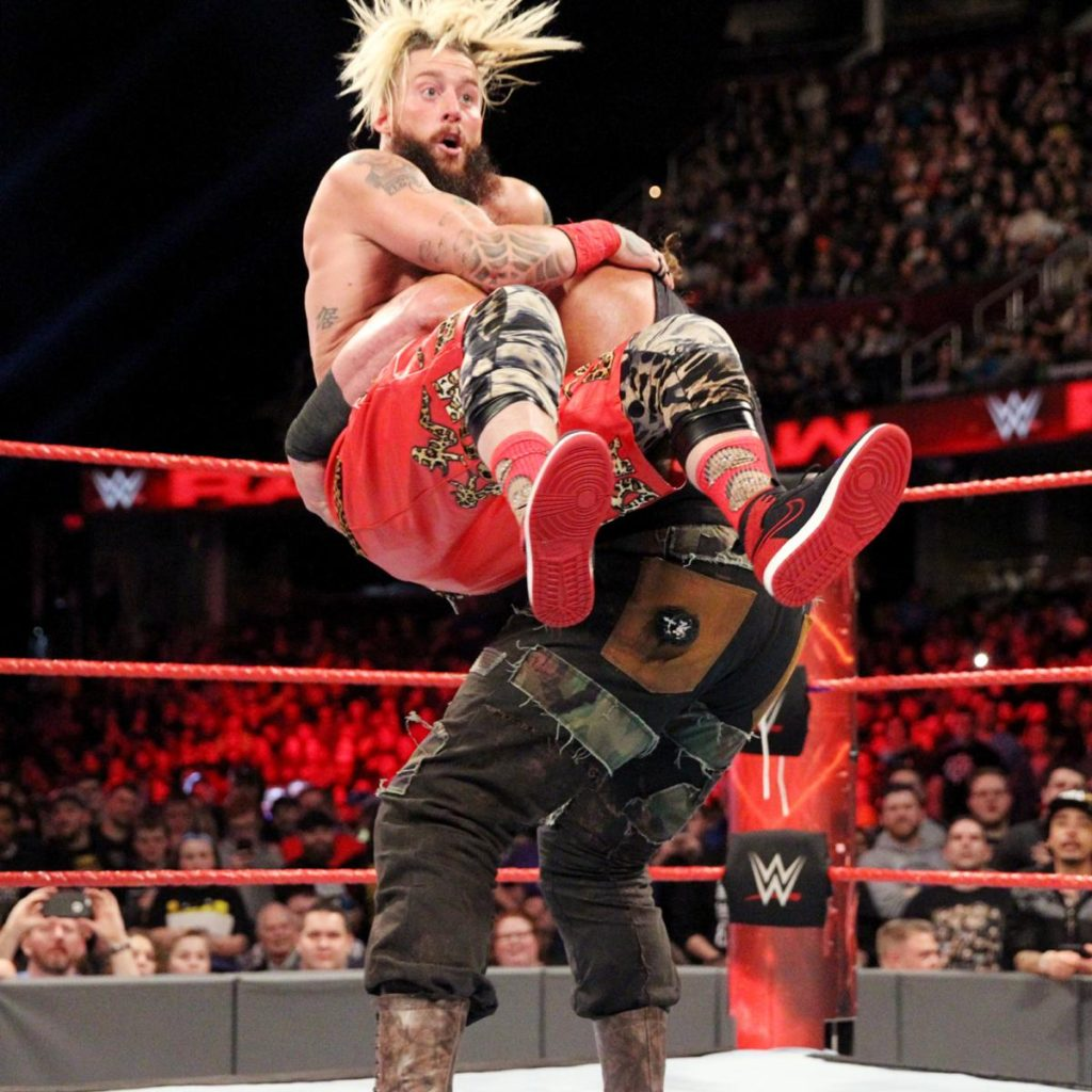 Enzo Amore Fight Pictures