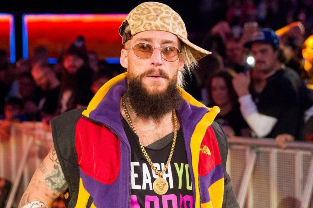 Enzo Amore Funny Look Photos