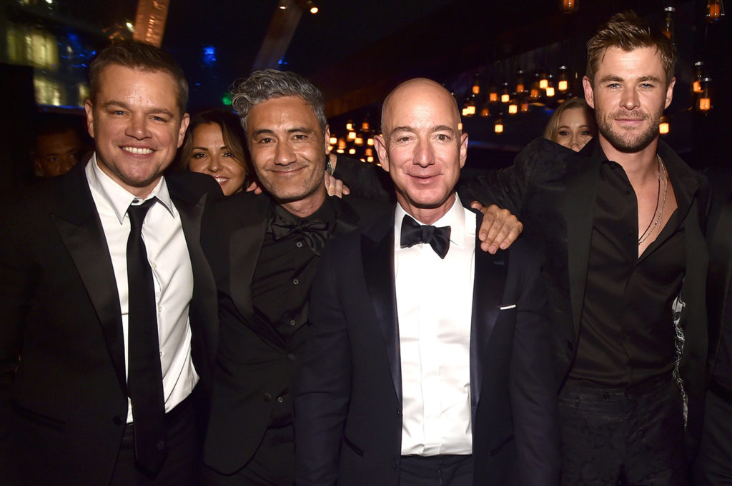 Jeff Bezos Beautiful Images With Other Men