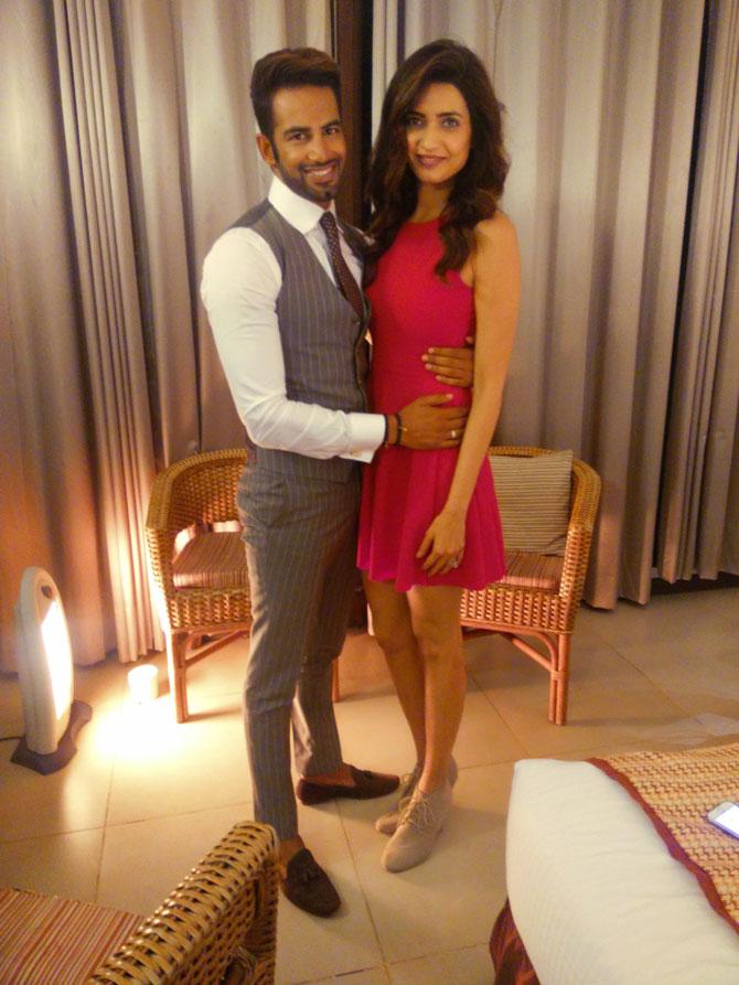 Karishma Tanna Pics With His Boyfriend